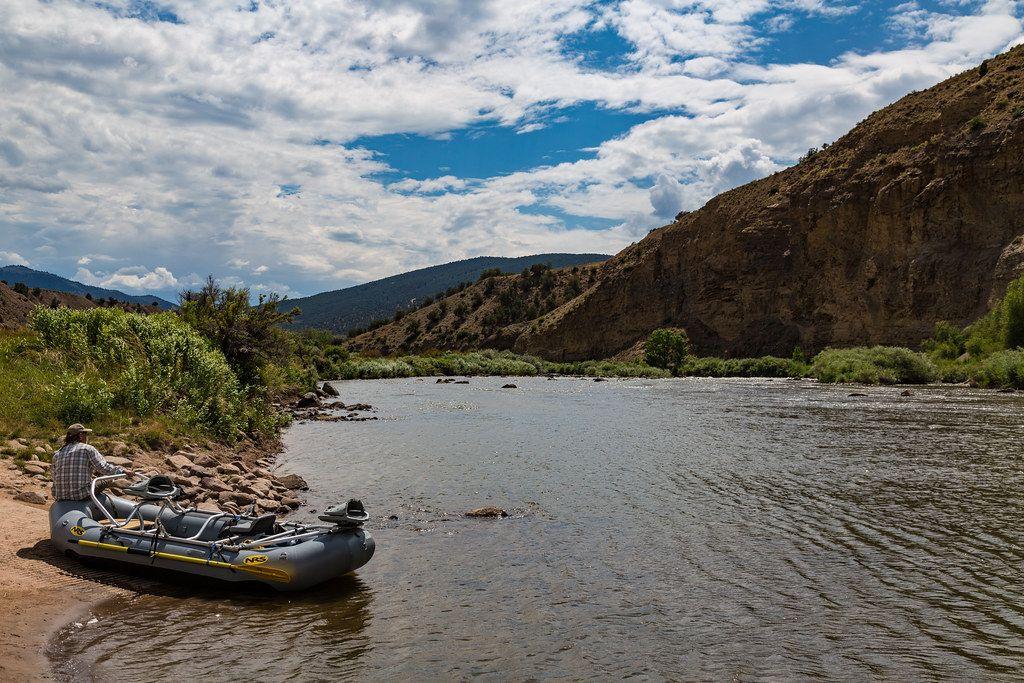 Boat by Colorado River