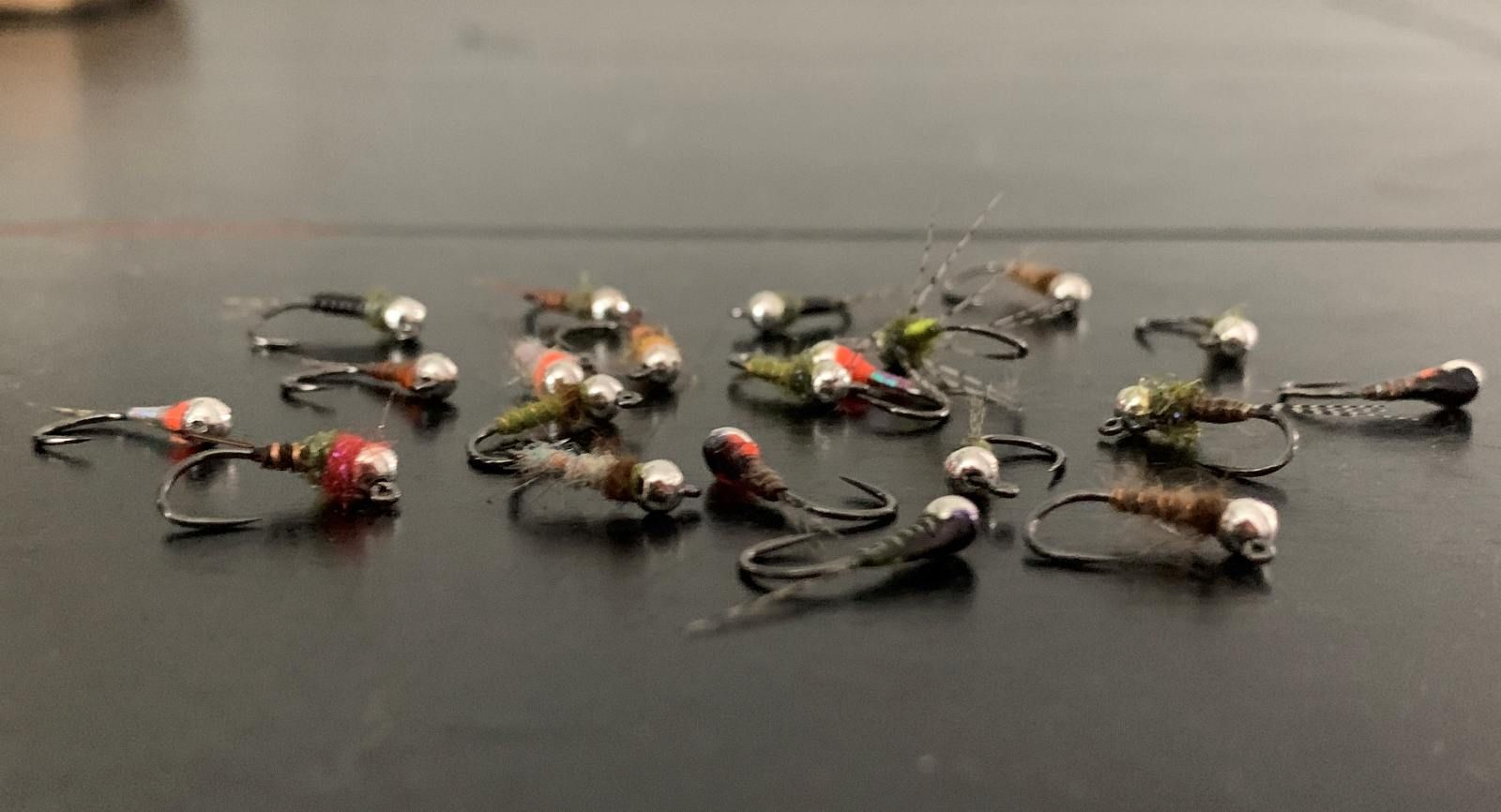Nymphs Used in Euro Nymphing Fly Fishing
