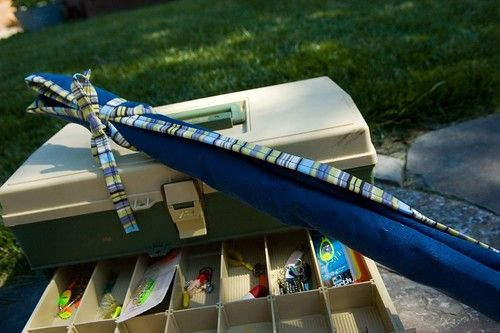 """""""Fishing Pole Cozy"""" by St0rmz is licensed under CC BY-SA 2.0"""