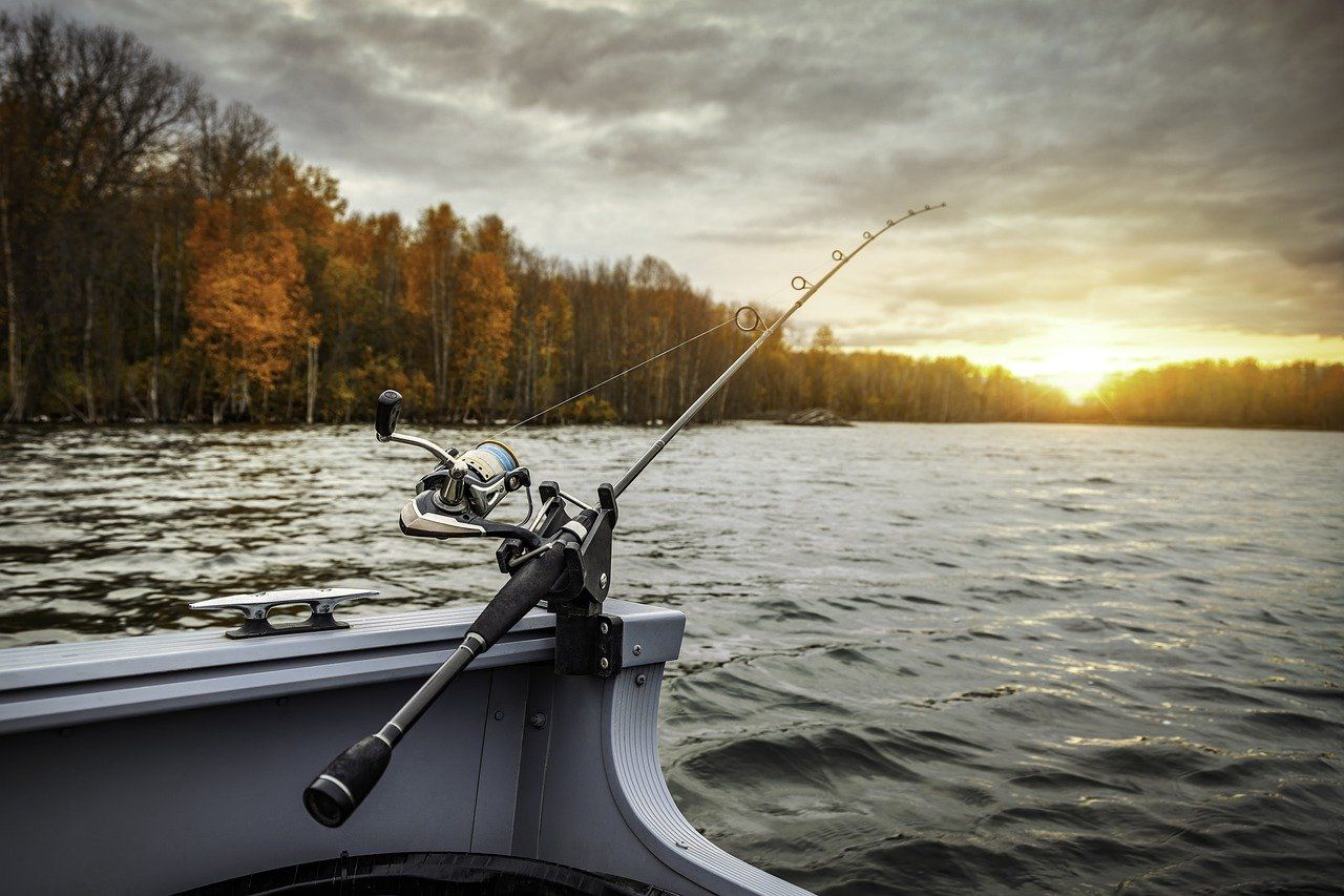 Waiting for the Walleye to bite
