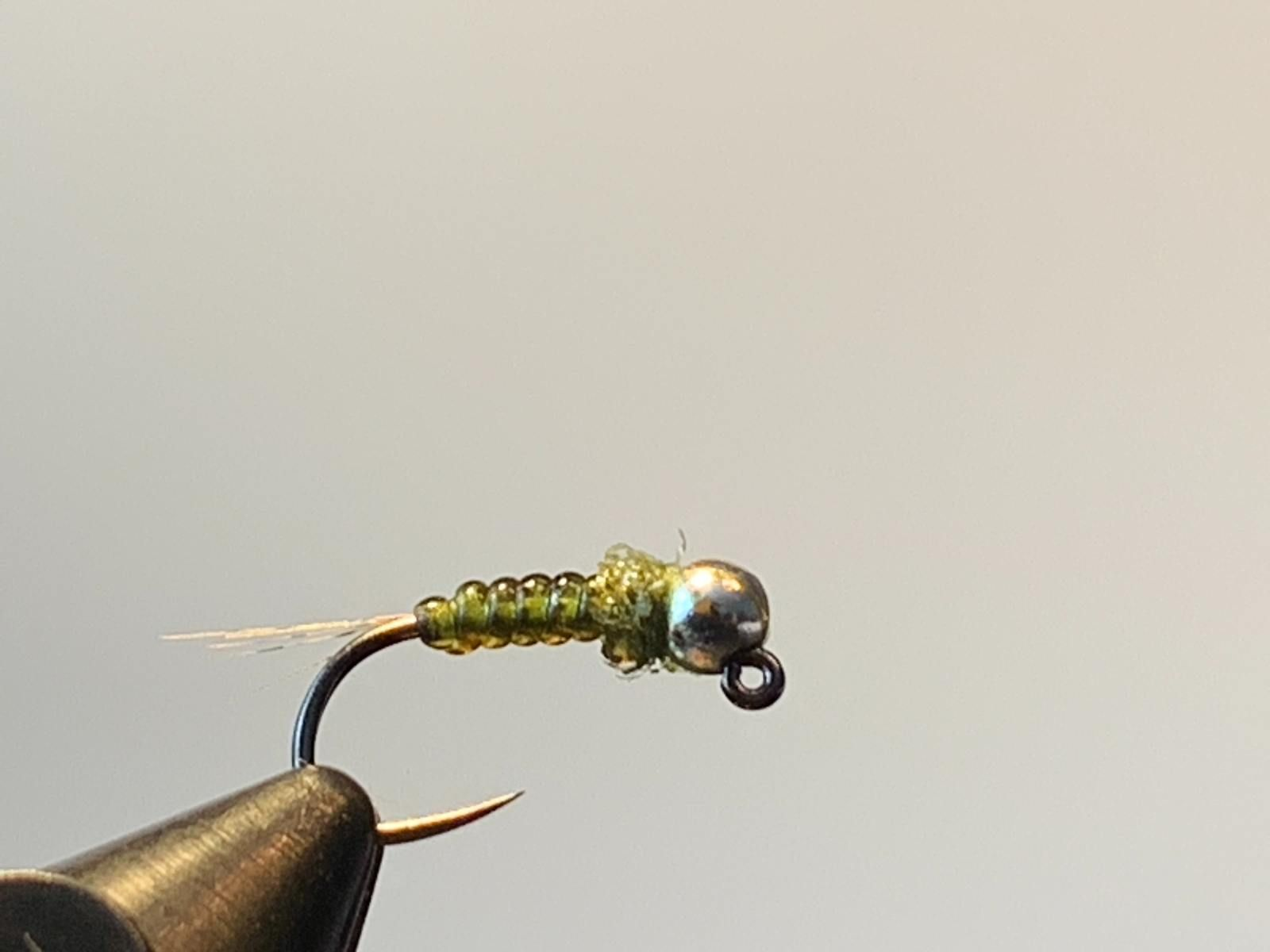 Olive France Nymph Fly Tying